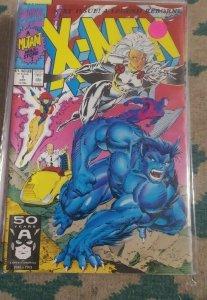 X men # 1 1991 marvel Jim  lee - beast storm professor x jean gray cover mutant