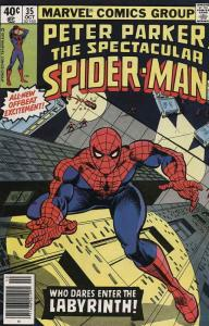 Spectacular Spider-Man, The #35 FN; Marvel | save on shipping - details inside