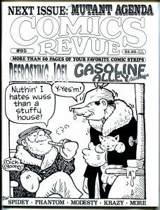 Comics Revue #94 1995-Gasoline Alley-Steve Canyon-Modesty Blaise-Tarzan-VF