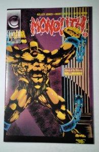 Monolith #3 (1992) Comico  Comic Book J756