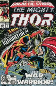 Thor #445 VF/NM; Marvel | save on shipping - details inside