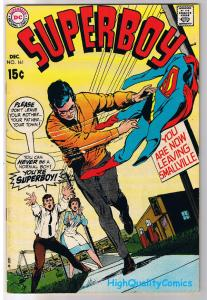 SUPERBOY #161, FN+, Death of, Neal Adams,Smallville,1949