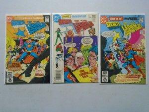 Secrets of the Legion of Super-Heroes set #1-3 6.0 FN (1981)