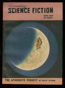 ASTOUNDING SCIENCE-FICTION JUNE 1949-L RON HUBBARD-fine condition FN