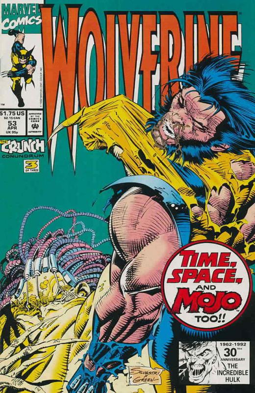 Wolverine #53 VF/NM; Marvel | save on shipping - details inside