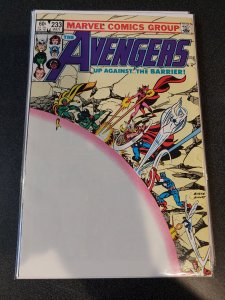 THE AVENGERS #233 BRONZE AGE CLASSIC VF/NM