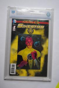 Sinestro 1, 10 Gem Mint.
