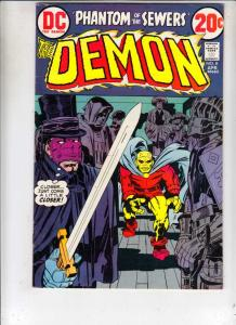 Demon, The #8 (Apr-73) VF High-Grade Jason Blood, Merlin
