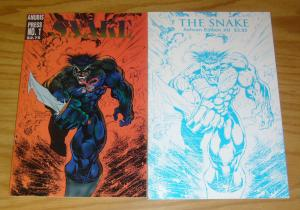 the Snake #0-1 VF/NM complete series HOANG NGUYEN anubis press set lot comics