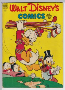 Walt Disney Comics and Stories 140 - May 1952 VG+ Dell