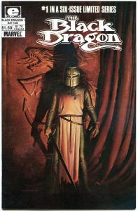 BLACK DRAGON #1 2 3 4 5 6, VF/NM, 1985, John Bolton, Chris Claremont,1-6