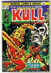KULL the CONQUEROR 13, VF+, Robert Howard, Mike Ploog, 1971, more in store