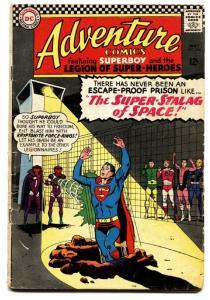 ADVENTURE COMICS #344 comic book 1966-SUPERBOY LEGION SUPER-HEROES vg-