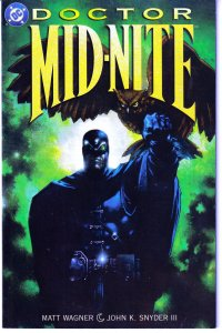 Doctor Mid Nite(mini-series, 1999)#1,2,3   Grendel Creator updates for 90s !