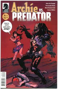 ARCHIE vs PREDATOR #2 C, NM, Batter Up, 2015, more Dark Horse in store