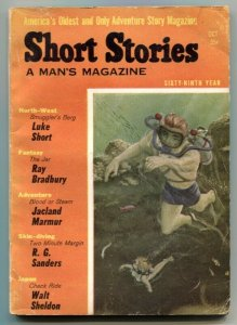 Short Stories October 1957- Bradbury- Luke Short VG