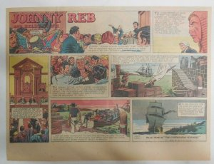 Johnny Reb Sunday by Frank Giacoia & Jack Kirby from 2/23/1958 Half Page Size!