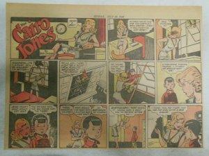Miss Cairo Jones Sunday by Bob Oksner from 7/28/1946 Size: 11 x 15 inches GGA