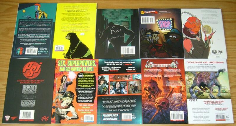 Lot of (15) Indies TPBs - thrud the barbarian - riverdale/more - (value: $240)