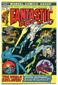 FANTASTIC FOUR #123, VF/NM, Silver Surfer, Galactus, 1961, more FF in store