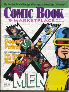Comic Book Marketplace #64 1998-X-men Issue-Doom Patrol-Metal Men-VF
