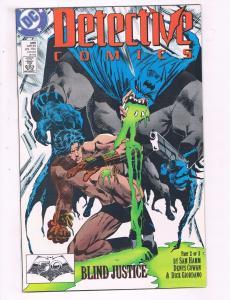 Detective Comics #599 VF DC Comics Comic Book Batman 1989 DE20