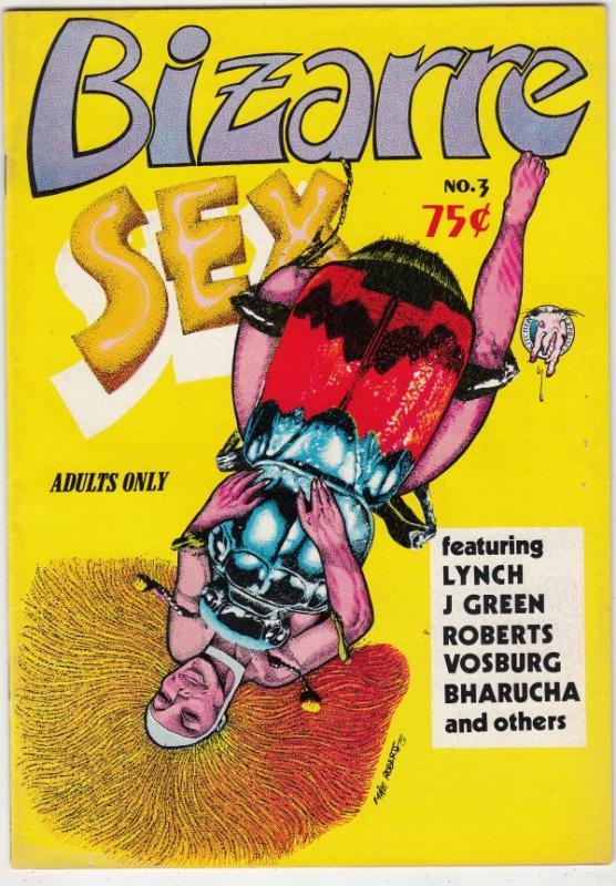 Bizarre Sex #3 (Jun-73) VF High-Grade
