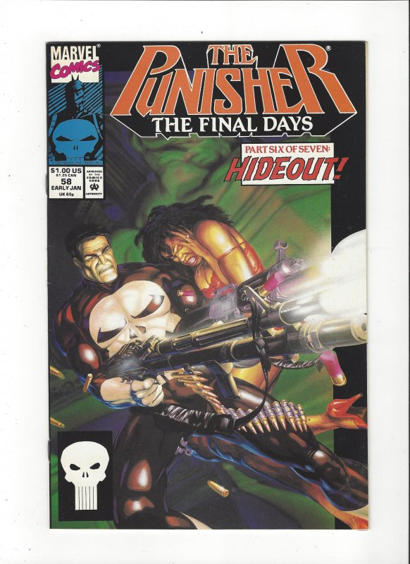 The Punisher #58 (1987)  Final Days Marvel Comics NM