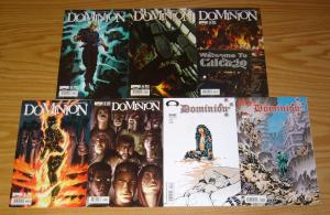 Dominion #1-2 VF/NM complete series + vol. 2 #1-5 keith giffen horror