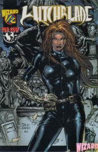 Witchblade #1/2C (½ half) VF/NM; Image | save on shipping - details inside