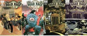 ROAD RAGE (2012 IDW) 1B,2A-4A  Stephen King & Joe Hill