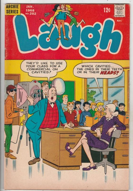Laugh, Archie #202 (Jan-68) FN/VF Mid-High-Grade Archie