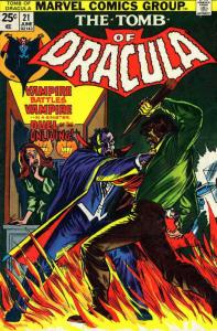 Tomb of Dracula #21 FN; Marvel | save on shipping - details inside
