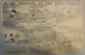 The Terrors of the Tiny Tads by Gustave Verbeek from ?/1909 Half Page Size!