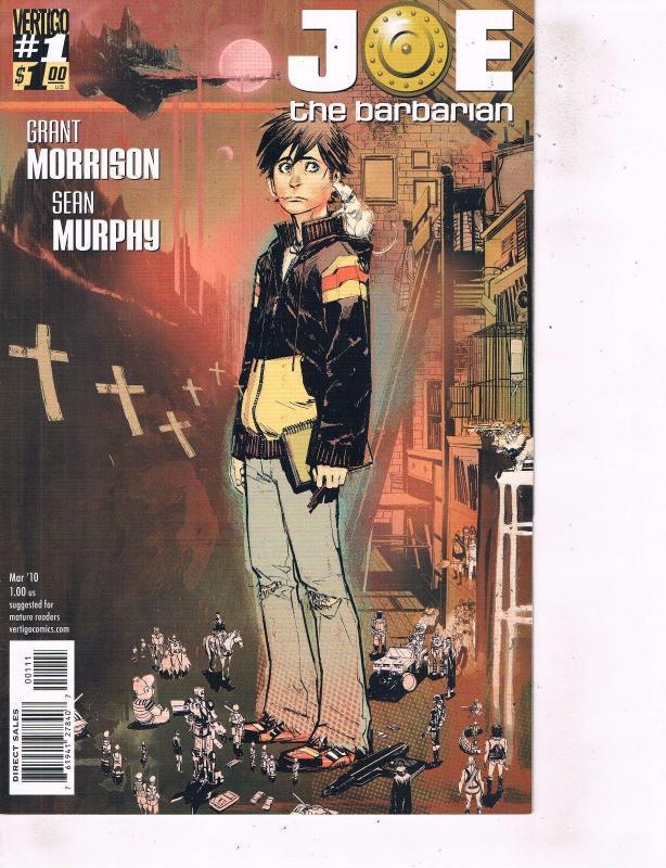 Lot Of 2 Comic Books Vertigo Joe Barbarian #1 Green Lantern Gantlet's Tale LH24