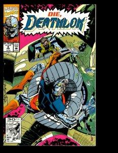 12 Deathlok Marvel Comics 8 9 10 11 12 13 14 15 16 17 18 Ghost Rider Sci-Fi GK15