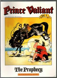 Prince Valiant #1 1990-Fantagraphics-color reprint-Hal Foster The Prophecy-VF