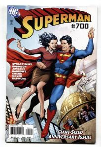 SUPERMAN #700-Anniversary issue-Lois Lane-DC comic bool NM-