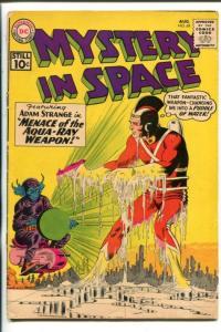 MYSTERY IN SPACE-1961-DC-ADAM STRANGE-CARMINE INFANTINO-good/vg