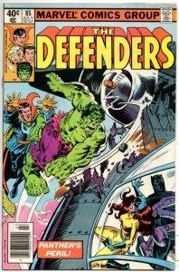 DEFENDERS #85, NM-, Dr Strange Black Panther Hulk 1972 1980, Marvel