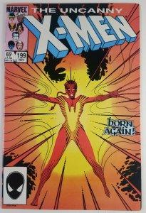 The Uncanny X-Men #199 - Rachel Summers 1st appearance Phoenix - HG - Marvel 85