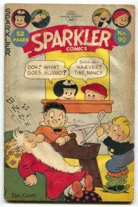 Sparkler Comics #90 1949- Ella Cinders G/VG
