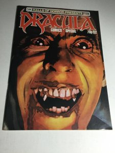 Halls Of Horror Presents Dracula Comics Special 1 Vf Very Fine 8.0 Magazine