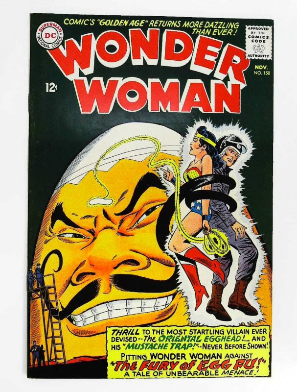 Wonder Woman (1942 series) #158, Fine+ (Actual scan)