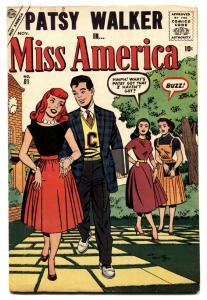Miss America #81 comic book 1957-Patsy Walker-Atlas VG+