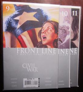 Civil War Front Line (2006-07), SET:#9-11, VF