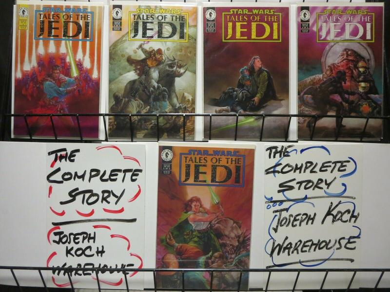 STAR WARS TALES OF THE JEDI 1-5 Tom Veitch complete set