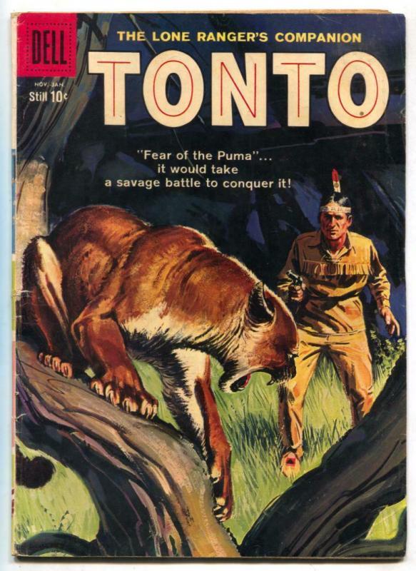 Tonto #33 1958-Dell Western-Lone Ranger's companion G