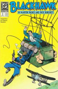 Blackhawk (3rd Series) #3 VF/NM; DC | save on shipping - details inside
