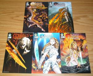 Michael Turner's Fathom: Kiani #0 & 1-4 VF/NM complete series - all A variants